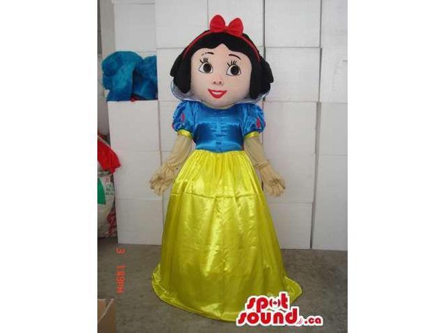 Snow White Children Story Disney Character Canadian SpotSound Mascot