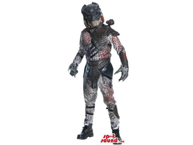 Great Scary Space Warrior Monster Character Adult Size Costume