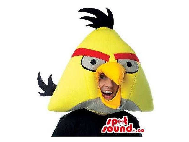 Cute Yellow Angry Birds Character Adult Size Costume