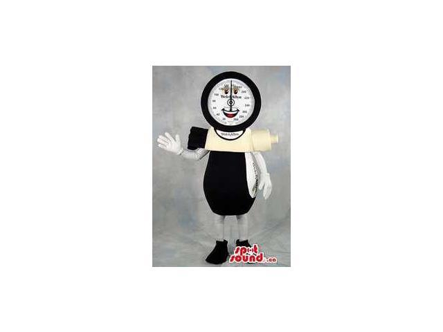 Customised Peculiar Large Blood Pressure Meter Canadian SpotSound Mascot