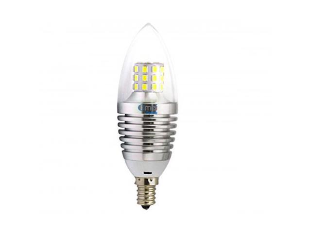 Led Candelabra Bulb 7w 4 Pack Warm White 60w E12