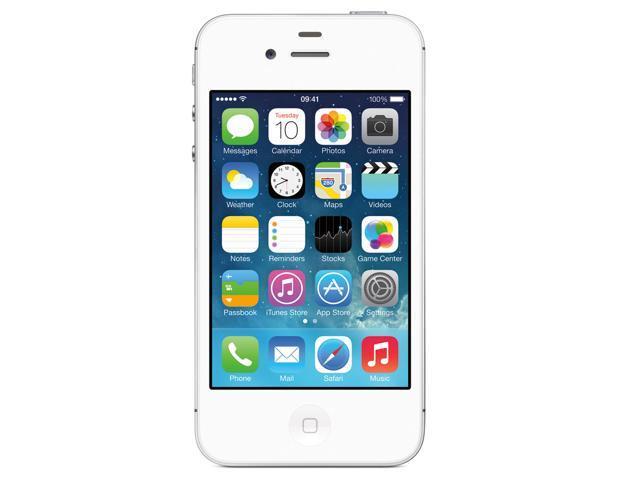 refurbished apple iphone 4s 8gb 3g white 8gb factory. Black Bedroom Furniture Sets. Home Design Ideas