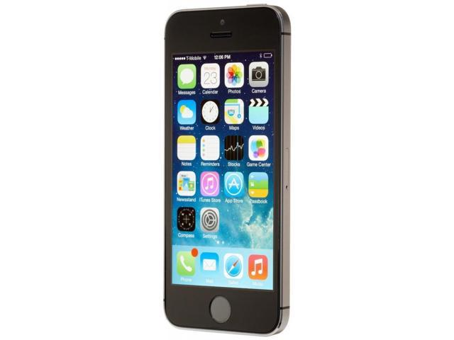 refurbished apple iphone 5s 64gb factory gsm unlocked t mobile at t space gray. Black Bedroom Furniture Sets. Home Design Ideas