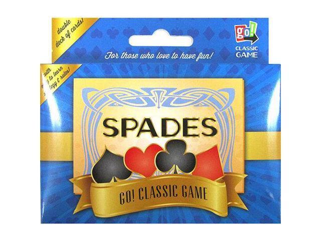 Spades 2 deck card game by go games newegg com