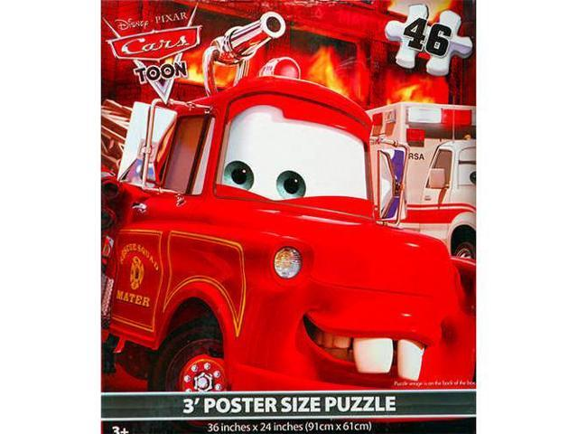 Disney Cars 46 Piece Floor Puzzle by Cardinal