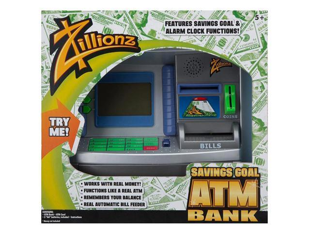 Savings Goal ATM Bank Toy by Poof Slinky Inc.