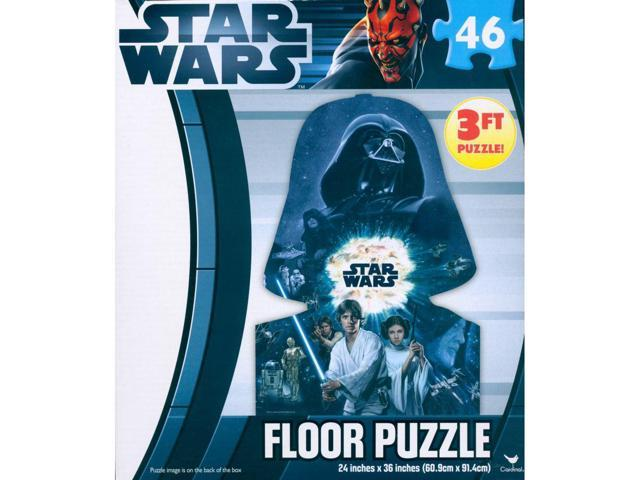 Star Wars Clone Wars 46 Piece Floor Puzzle by Cardinal
