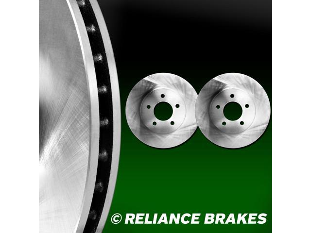 [2 FRONTS] Reliance *OE REPLACEMENT* Disc Brake Rotors F2637