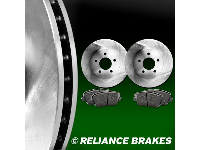 [FRONT KIT] Reliance *OE REPLACEMENT* Disc Brake Rotors *Plus Ceramic Pads F1078