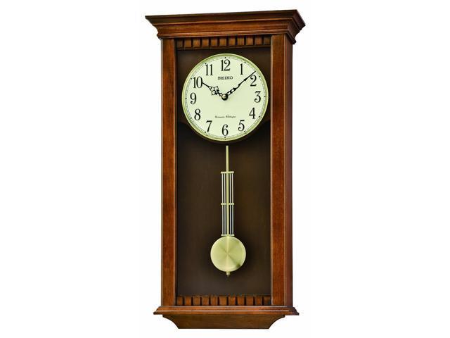 Seiko qxh064blh japanese quartz wall clock neweggcom for Seiko quartz wall clock