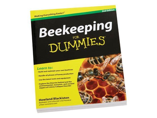 beekeeping for dummies book   newegg