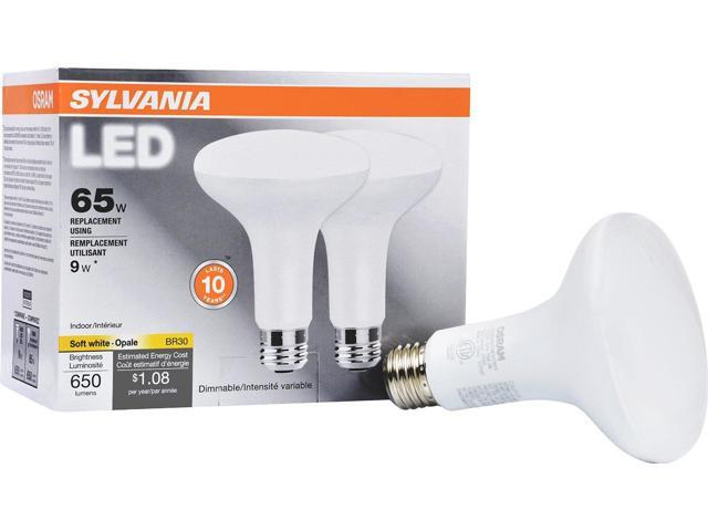 dimmable led light 9w sylvania lighting light bulbs