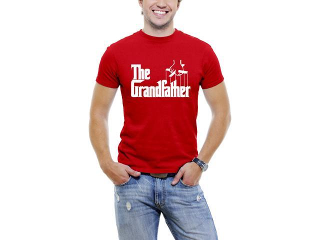 The Grandfather Men T-Shirt Soft Cotton Short Sleeve Tee  [Red]
