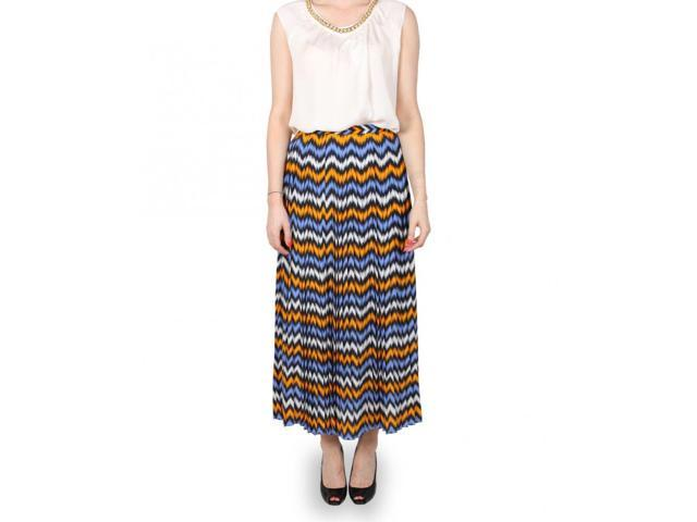 chevron print maxi skirt newegg