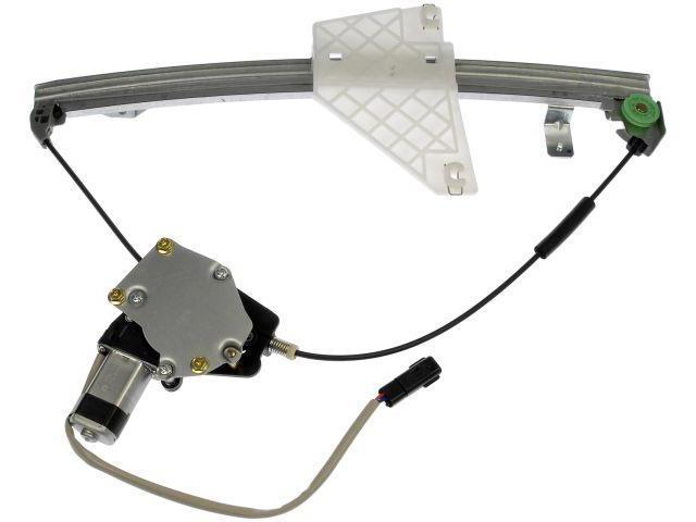 New door power window regulator motor rear right for 2001 jeep grand cherokee passenger window regulator