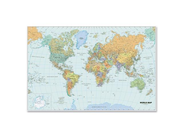 Doolittle Laminated World Maps