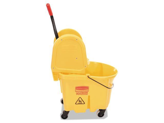 Wavebrake 35 Quart Bucket/Wringer Combinations Yellow