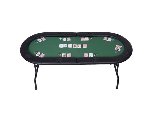 Foldable 8 player poker table casino texas hold 39 em play for 10 player poker table