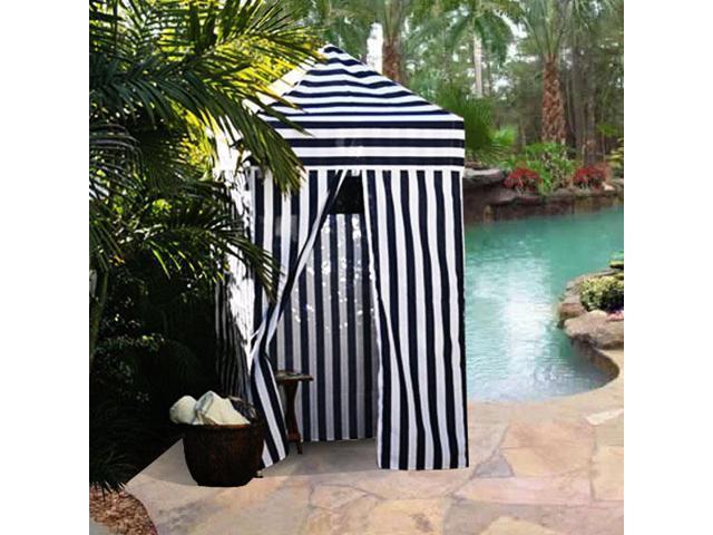 Portable Changing Cabana Tent : Apontus striped portable changing cabana tent patio beach