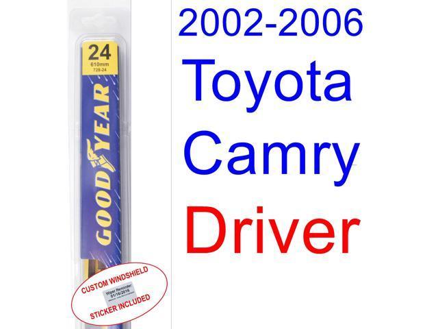 2002 2006 toyota camry wiper blade driver 2003 2004. Black Bedroom Furniture Sets. Home Design Ideas