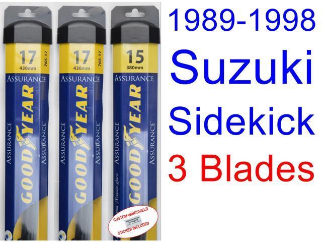 service manual  security system 1996 suzuki sidekick
