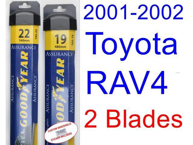 2001 2002 toyota rav4 wiper blade rear goodyear wiper blades assurance. Black Bedroom Furniture Sets. Home Design Ideas