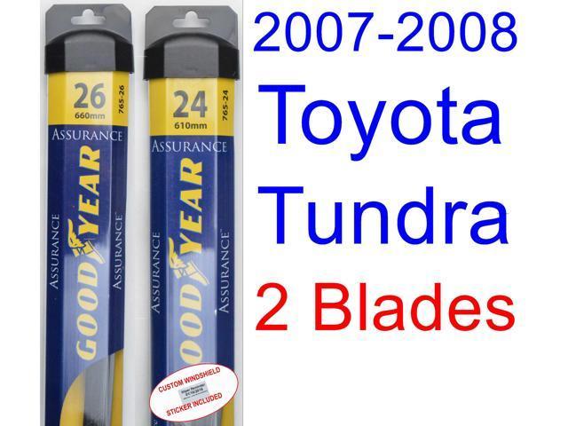 2007 2008 Toyota Tundra Wiper Blade Driver Goodyear