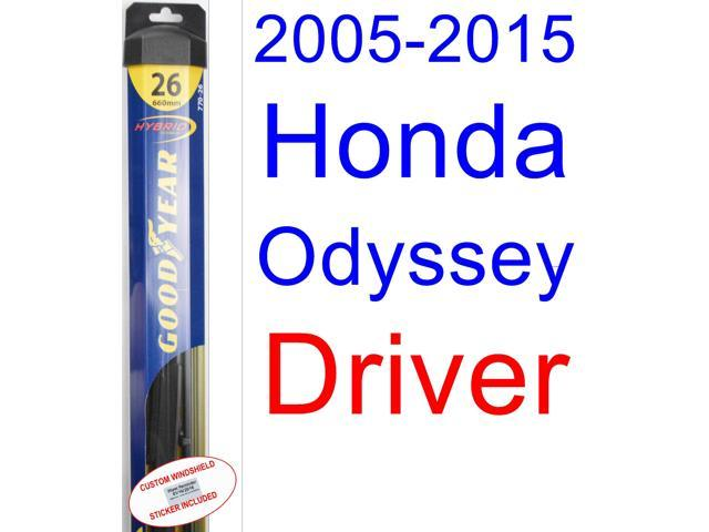 2005 2015 Honda Odyssey Wiper Blade Driver Goodyear