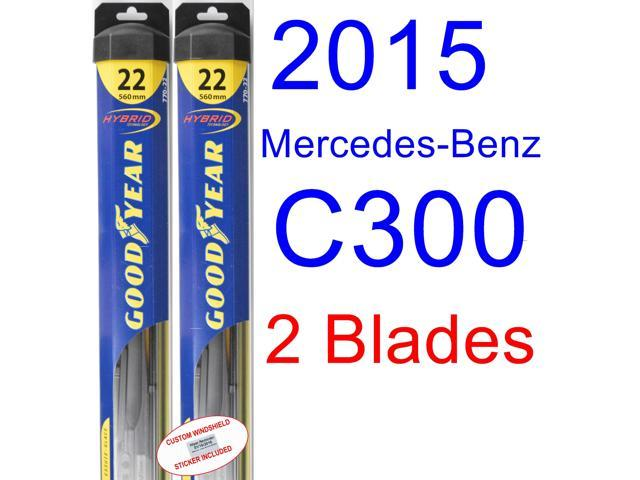 2015 mercedes benz c300 replacement wiper blade set kit for Mercedes benz c300 windshield replacement