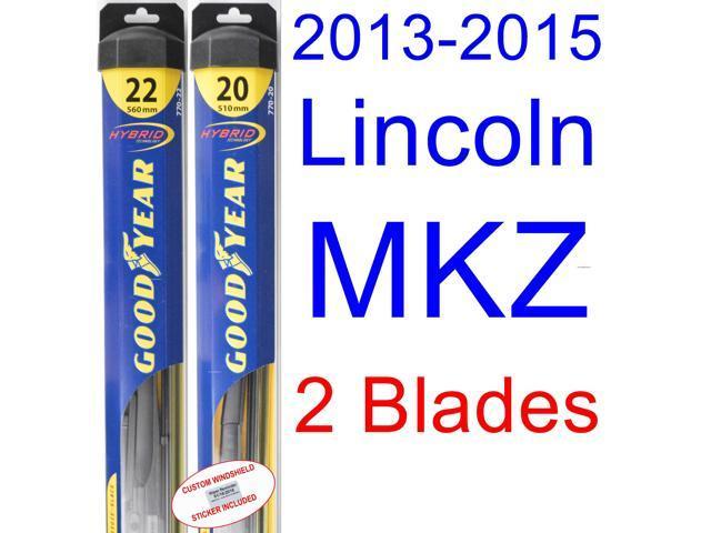 2013 2015 Lincoln Mkz Wiper Blade Driver Goodyear Wiper