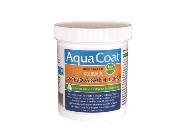 Aqua Coat Clear Wood Grain Filler Pt Newegg Com