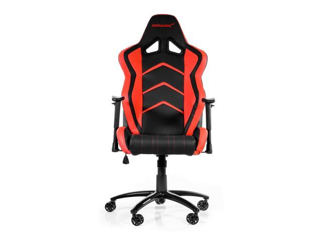 akracing racing style gaming chair with high backrest, recliner