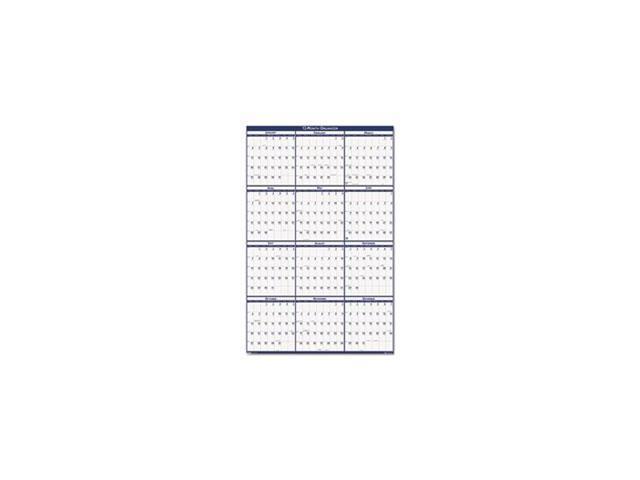 Year Calendar Sia : Laminated write on wipe off jumbo yearly wall calendar