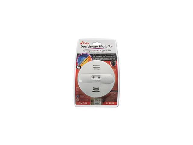 dual sensor smoke alarm 9v battery by kidde. Black Bedroom Furniture Sets. Home Design Ideas