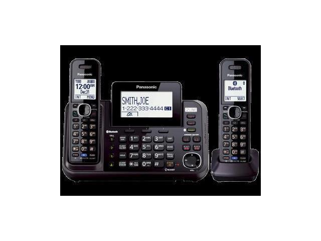 Panasonic KX-TG9542B Link2Cell 2-Line Cordless Phone- 2 Handsets