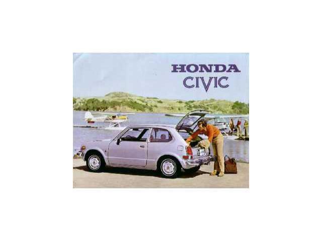 1974 honda civic hatchback sales page literature advertisement specification. Black Bedroom Furniture Sets. Home Design Ideas