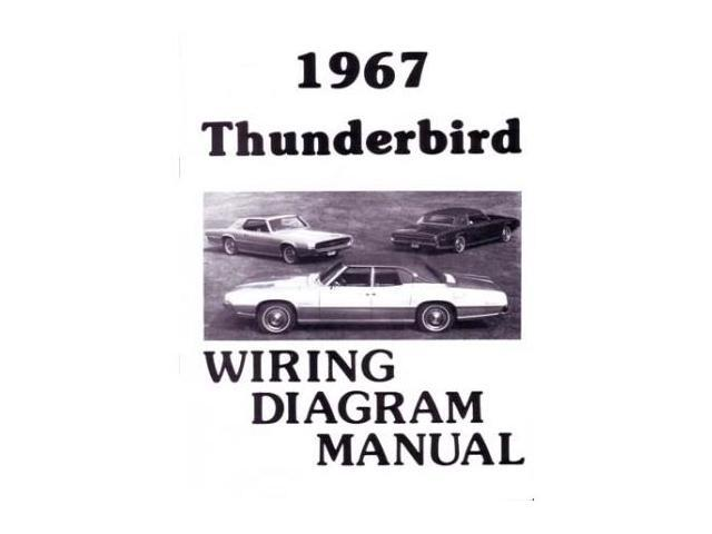 1967 Ford Thunderbird T Bird Electrical Wiring Diagrams Schematics Manual Book