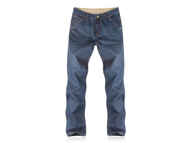 Demon&Hunter Men's Relaxed Dark Blue Jeans S8009(32)