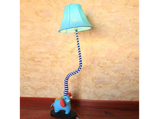 cute cartoon elephants baby room floor lamp creative kid 39 s. Black Bedroom Furniture Sets. Home Design Ideas