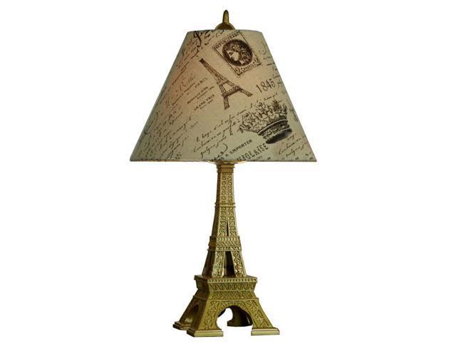 eiffel tower study room table lamp creative bedroom table lamps. Black Bedroom Furniture Sets. Home Design Ideas