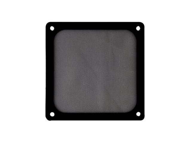 Silverstone FF123W 120mm Ultra Fine Fan Filter with Magnet (Black)