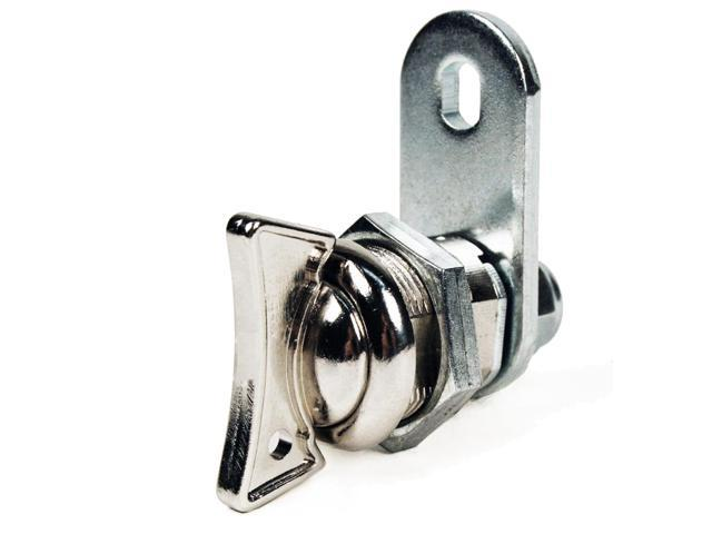 FJM Security Products MEI-0781S .63 in. Thumb Turn Cam Lock- Pack of 4