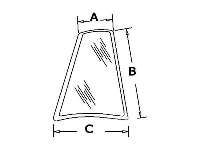 Case Backhoe Glass : D new case backhoe rh rear quarter glass k l