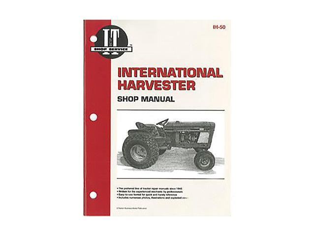 IH50 New Shop Manual Made for Case-IH Harvester Tractor Models Cub Cub Lo-Boy +
