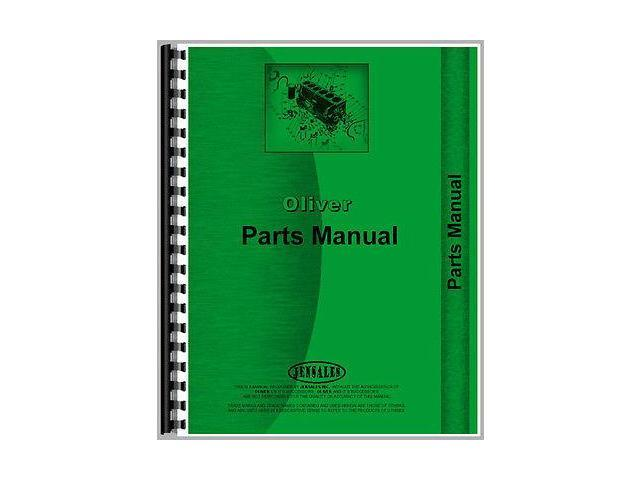 New Oliver OC-9 Diesel Crawler Parts Manual