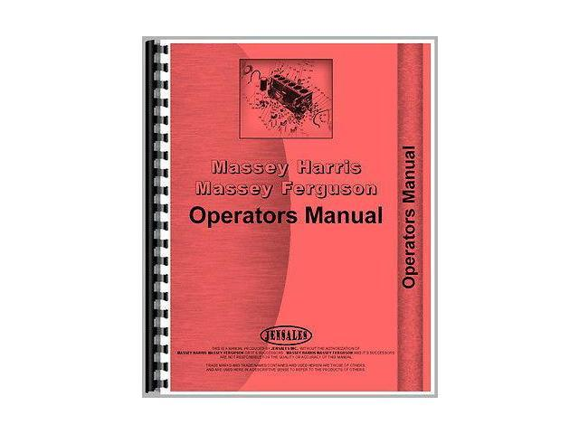 New Massey Ferguson 220-4 Tractor Operator Manual (MH-O-MF220 and-4)