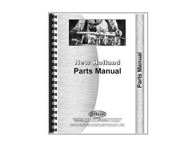New HOLLAND R5 REAR ENGINE RIDING MOWER Parts Manual