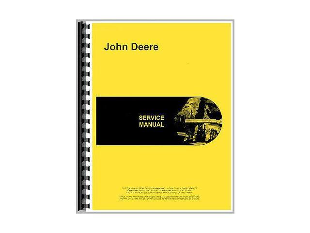 New Service Manual For John Deere Rotoboom Attachment 3400