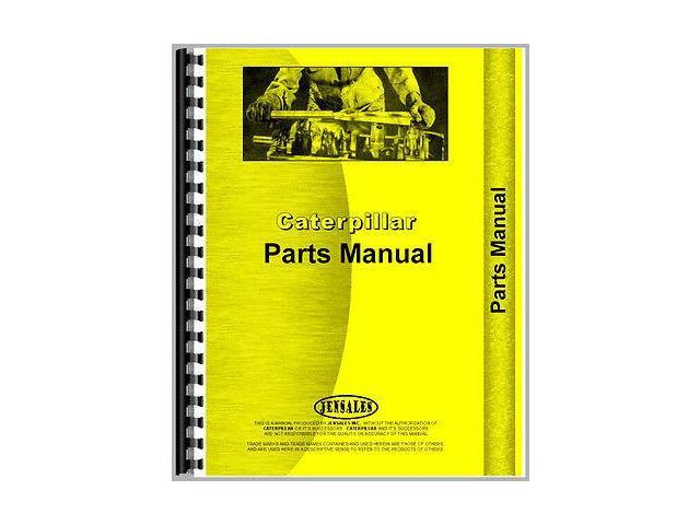For Caterpillar 34 Combine Parts Manual (New)