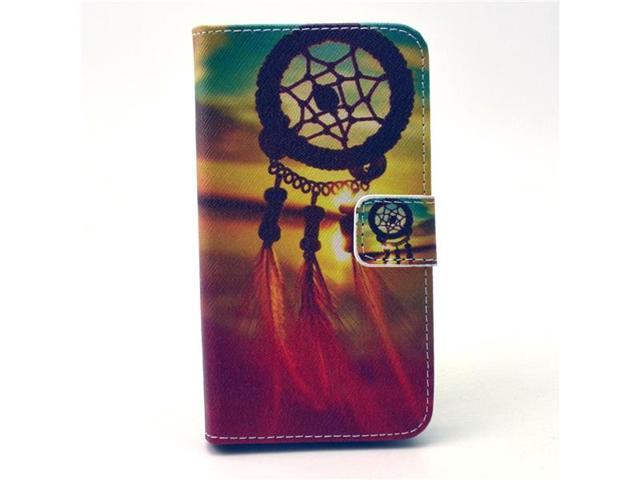 c9b629f6d7f Moonmini Case for LG L90 Dream Catcher Pattern Folding Stand Flip